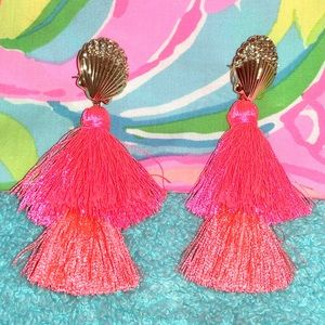 Lilly Pulitzer 2 way Earrings